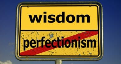 Thoughts on Becoming Perfect: Part 2